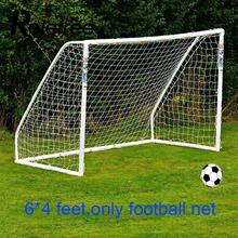 Relefree 1.8X1.2M 6 x 4 FT Football Soccer Goal Post Net Match Training Junior Polypropylene Fiber Net(China)