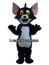 Real picture was taken tom cat mascot cat mascot costume adult size free shipping(China)