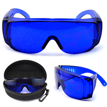 Mayitr New Golf Ball Finder Glasses Blue Professional Lens Sport Glasses Eye Protection With Box Golf Accessories