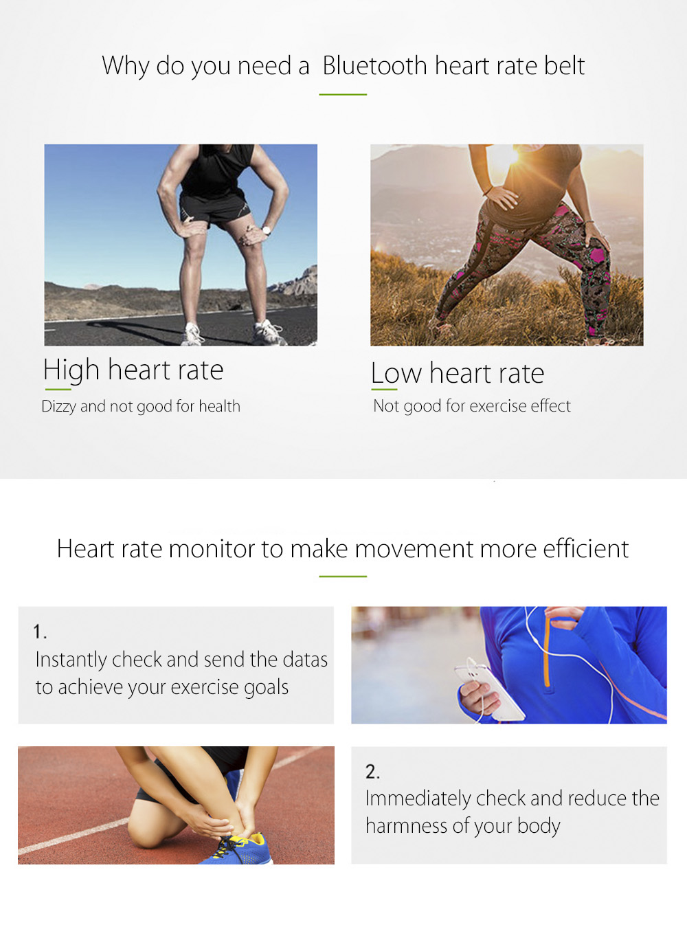 Chest Strap Heart Rate Monitor 7