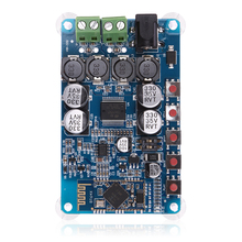 8 ~ 25V DC Bluetooth 4.2 Amplifier Board CSR BT Chip 2x50W Dual Channel Audio Receiver Digital Amplifier Board