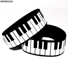 1PC Piano Keys Silicone Wristband Bracelet, Perfect To Use In Any Benefits Gift On Music Concert(China)