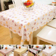 vanzlife colorful tablecloths PVC waterproof suit thickening oil coffee table tablecloth hypothermia difficult harden