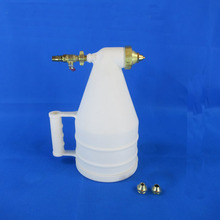 Engineering plastic spray gun  4mm, 6mm and 8mm paint nozzle powder  air tools automatic base coating equipment