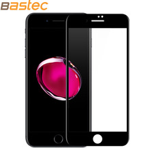 Bastec HD Clear Curve Edge Full Coverage Tempered Glass Screen Protector for iPhone 6 6 Plus with  Luxury Packaging