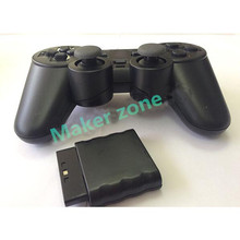 High Quality Black for PS2 Wireless Game Controller for Gamepad