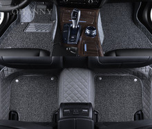 New High quality OHANNY Custom fit car floor mats case for Audi A5 (convertible) A6 TT Q5 A8L A4 travel liners accessories