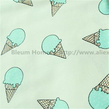 50*160cm Cotton Ice Cream Fabric Round Dots For Patchwork Warp Printed Kid Baby Dress Decoration Bed Linen Diy Handmade Curtains