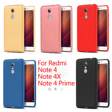 New Frosted Cases With Fragrance Silicone TPU Soft Phone Back Cover Case For Xiaomi Redmi Note 4 4X Prime Global Version