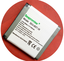 Freeshipping retail Mobile phone battery BST-38 for Sony Ericsson W760C, W760i, W902, W980, W980i, W995, Xperia X10 mini Pro
