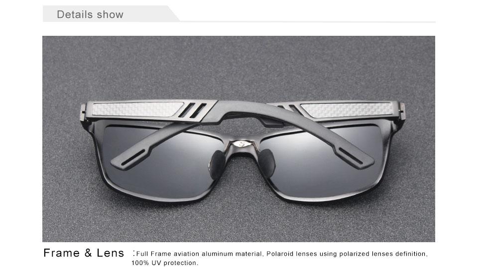 Men Polarized Sunglasses N7180