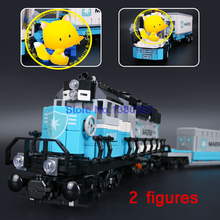 Lepin 21006 Lepin Technic MAERSK TRAIN Building Blocks Firures Train Model Bricks Educational Toys Compatible With Lego 10219