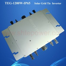 IP65 waterproof micro grid tie inverter mppt 1200W for solar powered solar system DC22-50V(China)