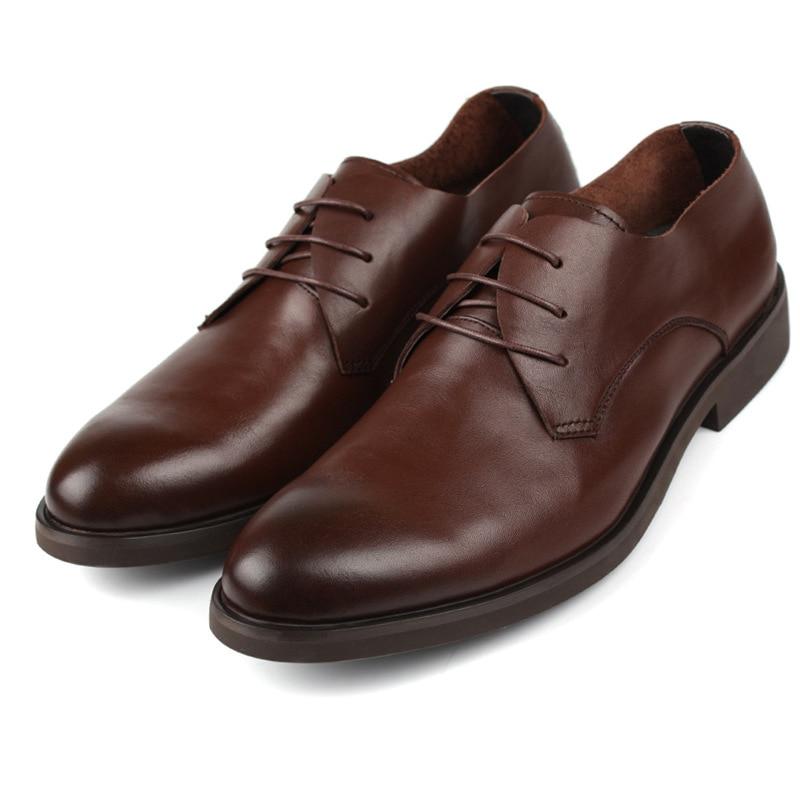 2016 Brand Handmade Full Grain Genuine Soft Leather Men Leather Flats Shoes Man Autumn Brand Shoes for Men, Original Men Shoes<br><br>Aliexpress