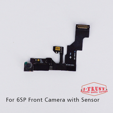 10pcs/lot Light Proximity Sensor Flex Cable Small Front Facing Camera Len Microphone Assembly for iPhone 6S Plus 5.5''(China)