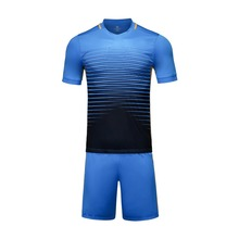 Top 2016 Men Soccer Jersey Set Mens Football Uniform Clothing Custom Sportswear Male Breathable Soccer Tracksuit Futbol Cloth