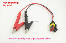 Promotion is on! Good quality. Universal Alligator clip adapter connector, for common rail injector tester