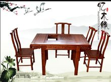 Rosewood rosewood wood tea Kung Fu tea table of Chinese furniture combination general Taiwan tea tables and chairs(China)