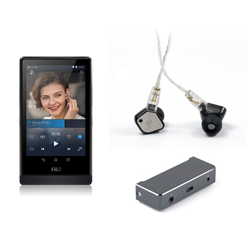 FiiO Hi-Res Music Player X7+Balanced amplifier module AM3+Balanced earphones Cable RC-IE8B