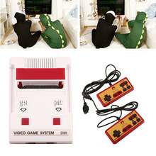 Brand New US plug Classical family game box TV game console 8bit TV game 80 yesrs after console with 400 different game(China)