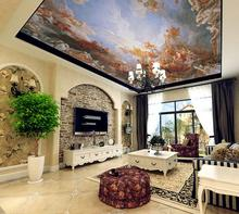 3D Wallpaper Custom Room Murals Non-Woven Wall Sticker Classical zenith dome sofa TV background wall photo wallpaper for wall 3d