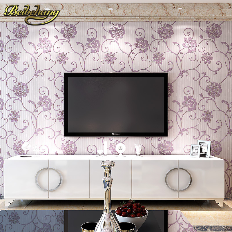 beibehang 3D relief Pastoral Wallpaper for walls papel de parede adesivo mural wallpaper wall paper Home Decoration papier peint<br>