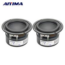 AIYIMA 2PCS Tweeter Audio Speaker Portable Mini Stereo Speakers Woofer Full Range Loudspeaker Horn 3 inch 4 Ohm 8 Ohm 25W(China)