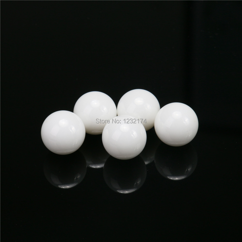 "US Stock 10pcs 3//16/"" 4.763mm Ceramic Bearing Balls ZrO2 Zirconia Oxide Ball G5"