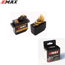 1pcs Emax ES08MA II Mini Micro High Sensitive Analog Servo for 3D RC Plane Helicopter with original box