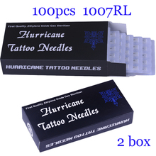 Disposable Tattoo Needles 7RL 100pcs/lot Disposable Sterile Tattoo Needles 7 Round Liner Supply(China)