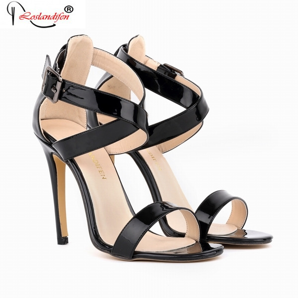 2017 Hot Sale Elegant Luxury Summer Sexy Woman Sandals Open Toe Women Shoes Designer High Heels Sandal Shoes SMYNLK-B0044<br>