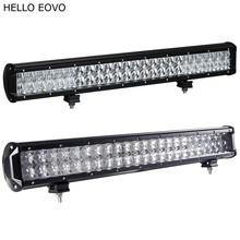 HELLO EOVO 22 Inch 240W 4D 5D LED Light Bar for Work Indicators Driving Offroad Boat Car Tractor Truck 4x4 SUV ATV(China)