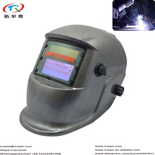 Welding Helmet Auto Darkening Best Quality Batteries Replaceable Long Life Use Full Face Shield Masque Fast Ship TRQ-HD18-2233FF(China)