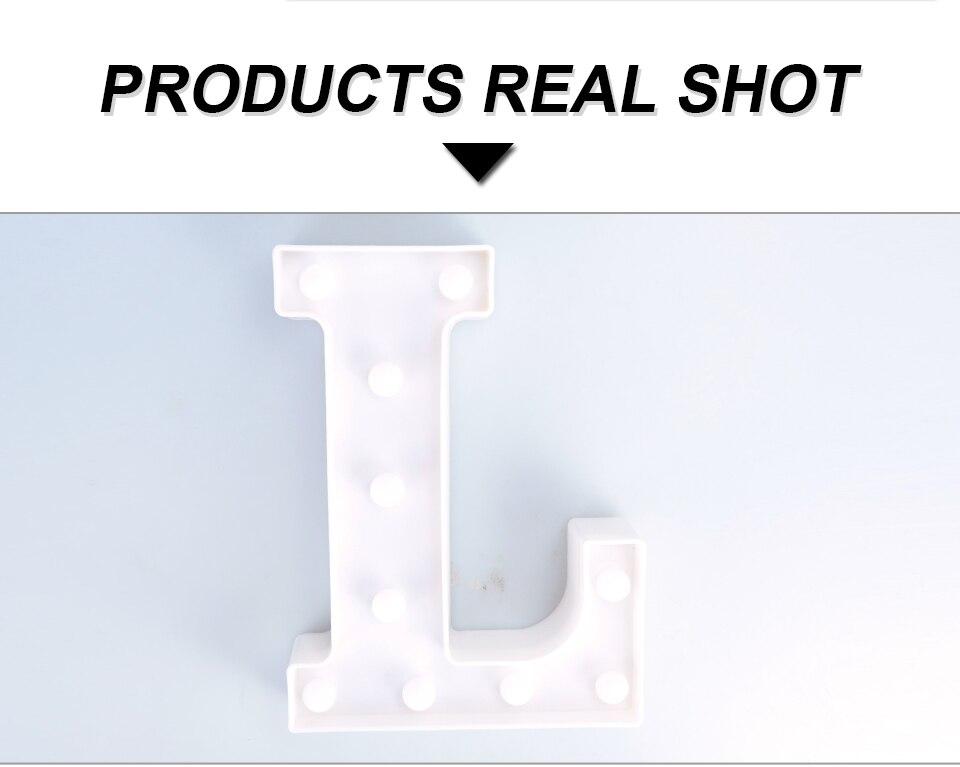 LED Night Light 3D Letters (11)