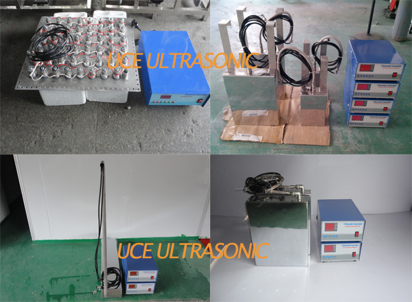 Multi-frequency Submersible ultrasonic transducer