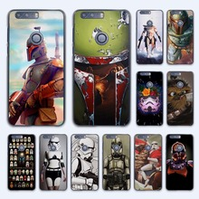 Star Wars Stormtrooper the force logo design hard transparent Case Cover for Huawei Honor 7 8 V8 G8 5 5C 5X 4C 4X 6 Plus phone c