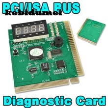 kebidumei AK PCI & ISA Motherboard Tester Diagnostics Display 4-Digit PC Computer Mother Board Debug Post Card Analyzer(China)