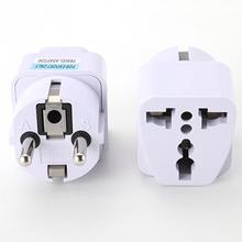 Malloom 2017 Universal Standard UK US AU to EU AC Power Socket Plug Travel Charger Adapter Converter Travel Power Connector(China)