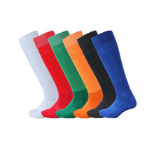 1 Pair Children Football Socks Knee Legging Sport Soccer Socks Kids Boys Soccer sock Absorbent sox non-slip movement