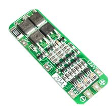 New Arrival 3S 20A Li-ion Lithium Battery 18650 Charger PCB BMS Protection Board 12.6V Cell 64x20x3.4mm Module
