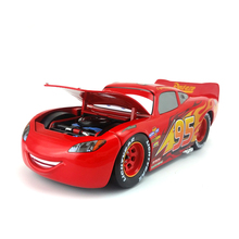 Disney Pixar Cars 3 Large No.95 Lightning Mcqueen Metal Diecast Toy Car 1:24 Loose Brand New In Stock & Free Shipping(China)