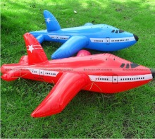 2pcs 60cm Inflatable Aeroplane Blow Up Airplane Kid Child Toy Party Decoration Random Colors 70114304