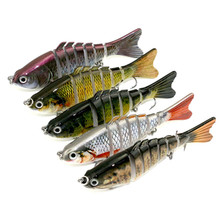 Hot Sale Lot 1 pcs Kinds of Fishing Lures Crankbaits Hooks Minnow Baits Tackle useful A3(China)