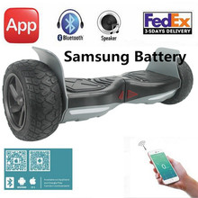 Hummer Ultra Wide Hoverboard Samsung BT+Bluetooth +APP+Speaker 2 Wheel Self Balance Scooters Electric Skateboard Hover Board