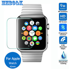 For Apple watch 42mm Tempered Glass Screen Protector 0.3mm 2.5D 9h Safety Protective Film For Iwatch Sport Edition A1554