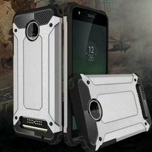 For Motorola Moto Z Play Carbon Fiber Black Case Silicone Shockproof Slim Hard Tough Rubber Armor Cover For Z Play Droid XT1635
