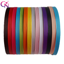 28 Pcs/lot High Quality 1CM Width Boutique Solid Ribbon Covered Headband With Teeth For Girls Kids Hairband Hair Accessories(China)