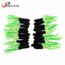 Lixada 20Pcs Soft Squid Baits Colorful Freshwater Lure Tube Bait Artificial Worms Grub Lure Pesca Fishing Accessories 4.5cm 0.9g