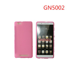 Cheap Good Quality Soft Silicone TPU Cell Phone Case for Gionee GN5002 Hot Clear Candy Pure Color Phone Fundas Movil Accessories