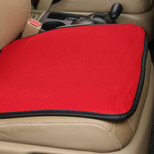 KKYSYELVA 1pcs Universal Car Seat Cover Red Chair Cover for Auto home office Automobile Interior Accessories